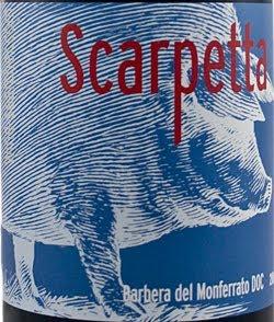 2011 Scarpetta Barbera del Monferrato